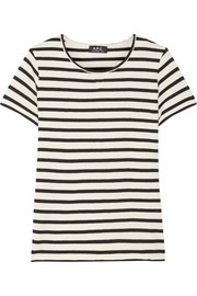 A.P.C. Atelier de Production et de Création Lynn striped cotton T-shirt