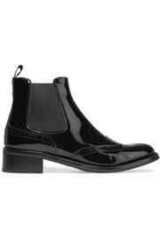 Church's Estella patent-leather Chelsea boots