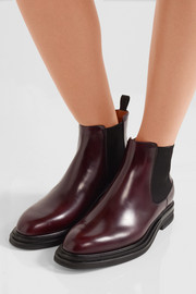 Church's Patsy glossed-leather Chelsea boots