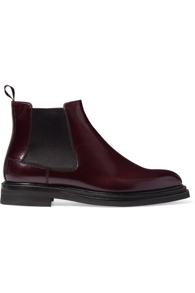 Church's - Patsy Glossed-leather Chelsea Boots - Merlot