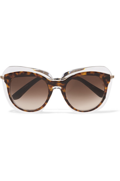 Dolce & Gabbana Square-frame acetate and gold-tone ...