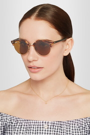 Ray-Ban Clubround acetate and metal sunglasses