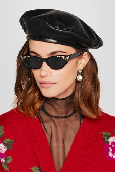 a432ad74acb Gucci. Cat-eye acetate sunglasses
