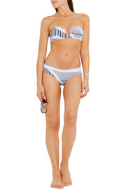 Prism Mahe striped bikini bottoms