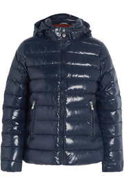 Pyrenex Spoutnic quilted glossed-shell down jacket