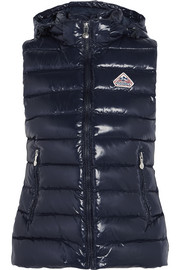 Pyrenex Spoutnic quilted glossed-shell down gilet