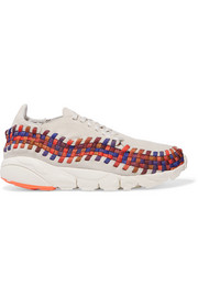 Nike Air Footscape woven suede sneakers