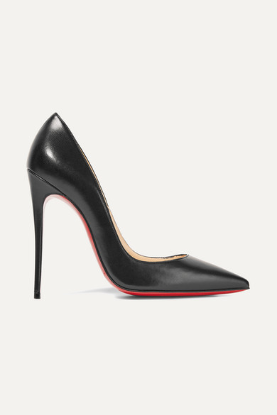 christian louboutin female christian louboutin so kate 120 leather pumps black