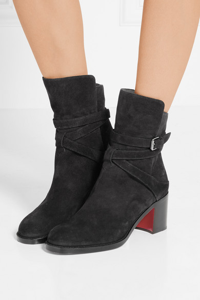 online store 06263 e7ce8 Karistrap 70 suede ankle boots