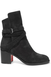Karistrap 70 suede ankle boots
