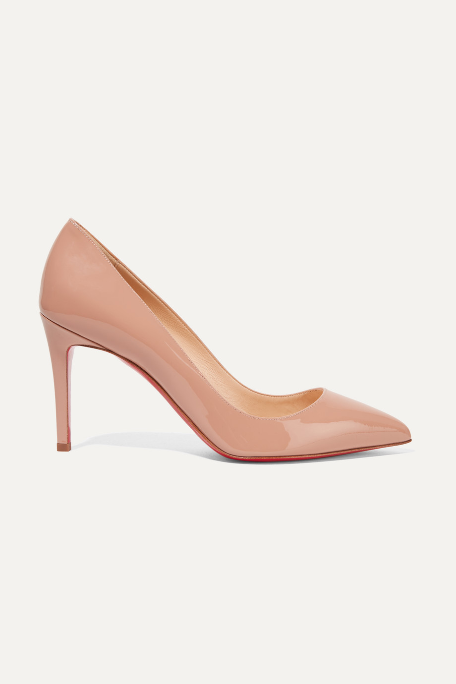 Christian Louboutin Pigalle 85 patent-leather pumps