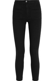 Kate Moss for Equipment Warren stretch-twill skinny pants