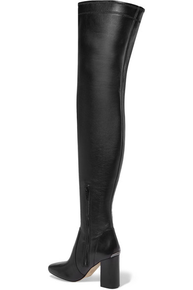 MICHAEL MICHAEL KORS Leathers Chase leather over-the-knee boots