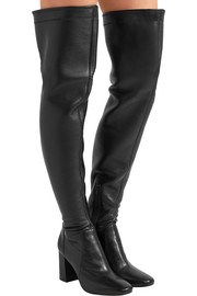 Chase leather over-the-knee boots