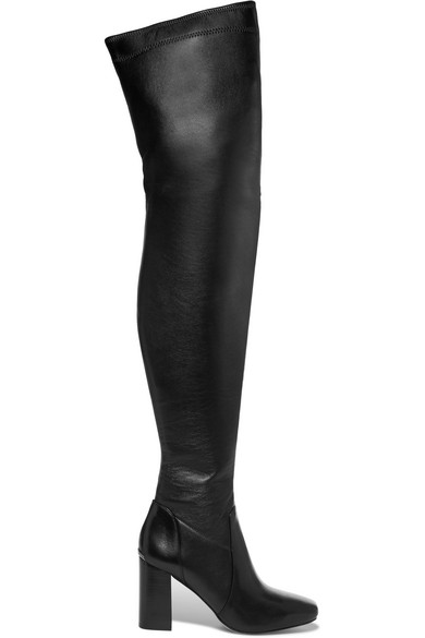 MICHAEL Michael Kors | Chase leather over-the-knee boots | NET-A ...