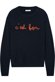 Chinti and Parker C'est Bon intarsia cashmere sweater