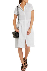 Chinti and Parker Broderie anglaise cotton shirt dress