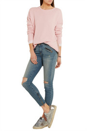 Chinti and Parker Two-tone merino wool sweater