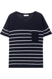 Chinti and Parker Striped cashmere top