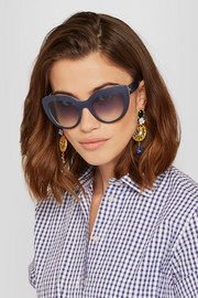 Dolce & Gabbana Escape cat-eye acetate sunglasses