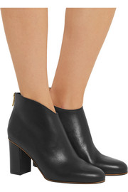 Farah leather ankle boots