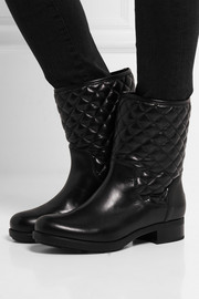 New Piccadilly Stiva quilted leather boots