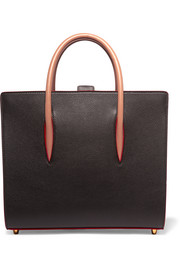Christian Louboutin Paloma medium spiked textured-leather tote