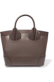 Christian Louboutin Eloise large spiked textured-leather tote