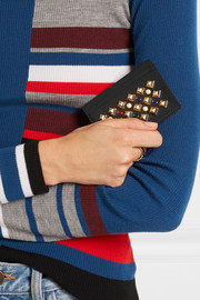 Christian Louboutin Kios embellished leather cardholder