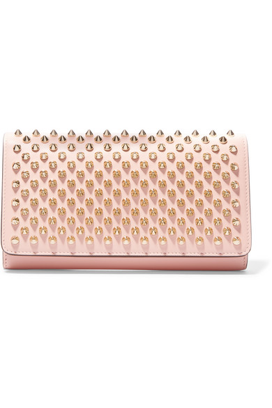 1842ae1347f Macaron spiked leather wallet