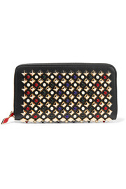 Christian Louboutin Panettone embellished leather wallet
