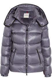 Moncler Berre metallic shell down jacket