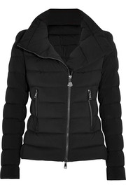 Antigone quilted shell down jacket