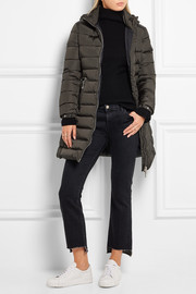 Orophin quilted shell down coat