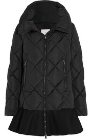 Vouglans quilted shell down jacket