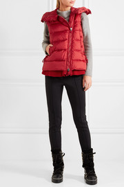 Laurie quilted shell down gilet
