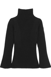 Moncler Maglione ribbed wool turtleneck sweater