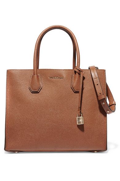 201bda4e6873 Zoom In MICHAEL Michael Kors Mercer large textured-leather tote ...