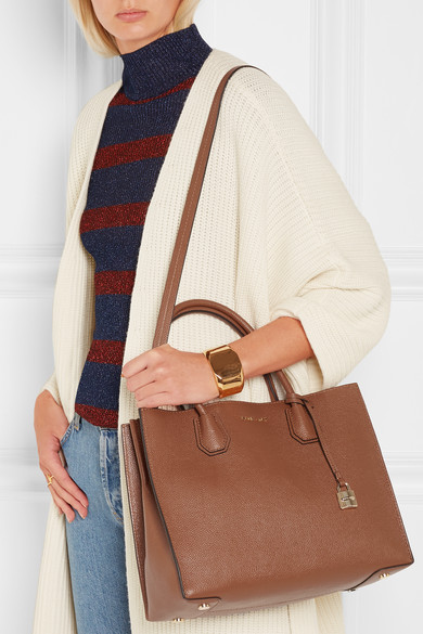 2862788a273b MICHAEL Michael Kors. Mercer large textured-leather tote. $258.62. Zoom In