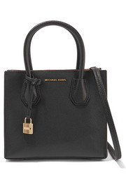 MICHAEL Michael Kors Mercer small textured-leather tote