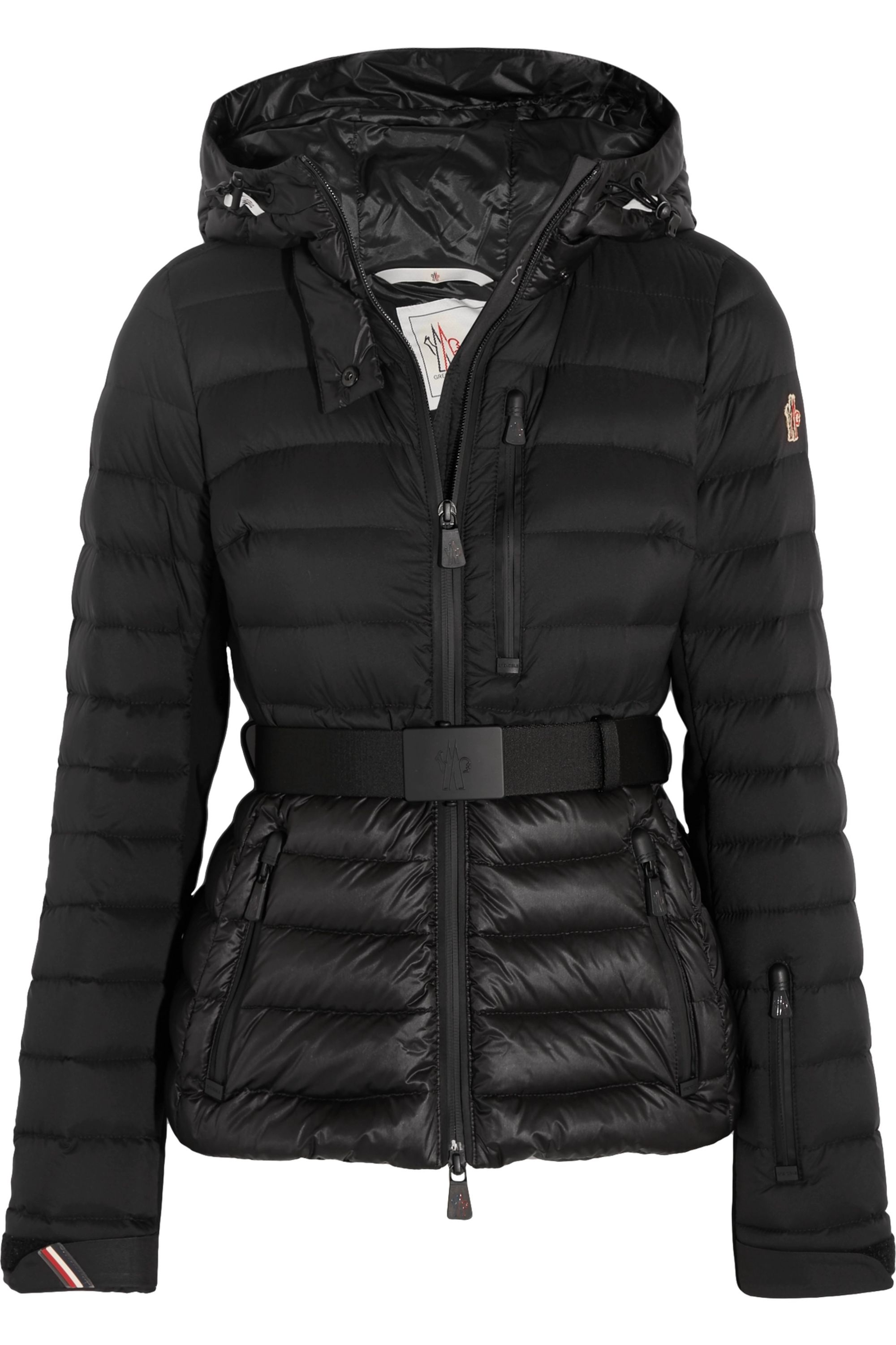 Moncler Grenoble Bruche hooded quilted down jacket