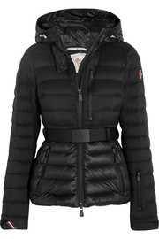 Bruche hooded quilted down jacket