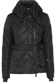 Marinet quilted shell down ski jacket