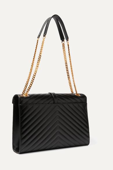 138d5c2a6da2 Cassandre large quilted textured-leather shoulder bag