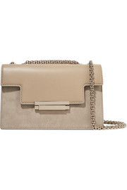 AERIN Leather and suede shoulder bag