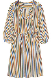 Vanessa Bruno Festine striped silk dress