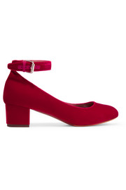 Martha velvet pumps