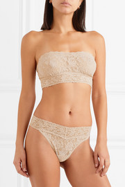 Hanky Panky Signature stretch-lace soft-cup bandeau bra