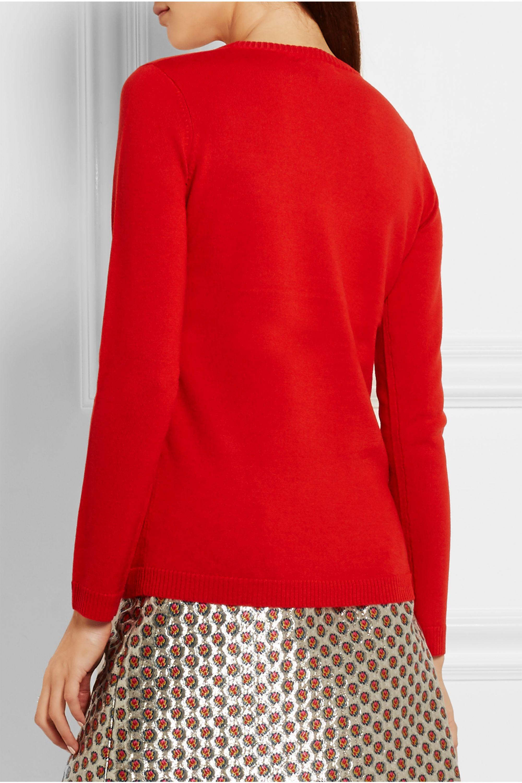 Bella Freud 1970 intarsia wool sweater