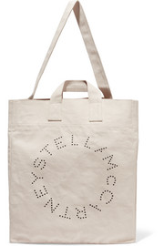 Stella McCartney Printed cotton-canvas tote